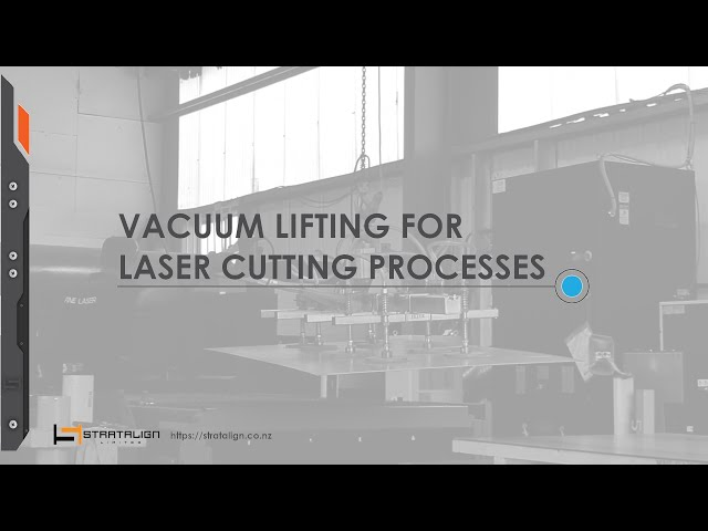 Fine Laser Cutting – Sheetmetal handling with vacuum lifters