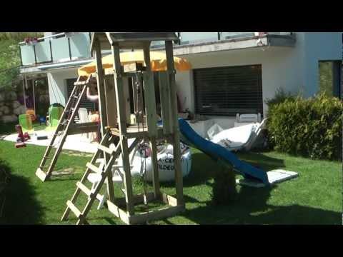 Spielturm Aufbau in 15 Minuten