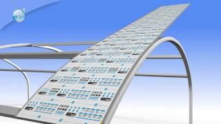 монтаж сотовых поликарбонатных модульных систем Топгаль
