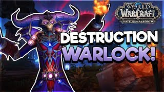 Destruction New Talents & Abilities! - FIRST LOOK! - Battle for AZEROTH ALPHA*