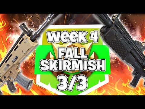 WEEK 4 FALL SKIRMISH 3/3