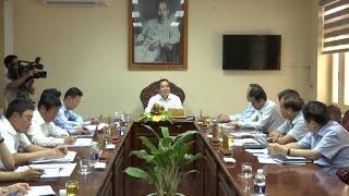 Đồng chí Nguyễn Văn Bình làm việc với Tỉnh ủy Quảng Bình