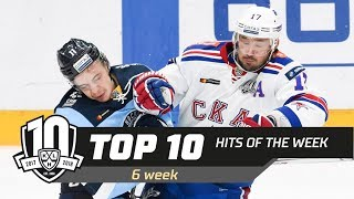 17/18 KHL Top 10 Hits for Week 6