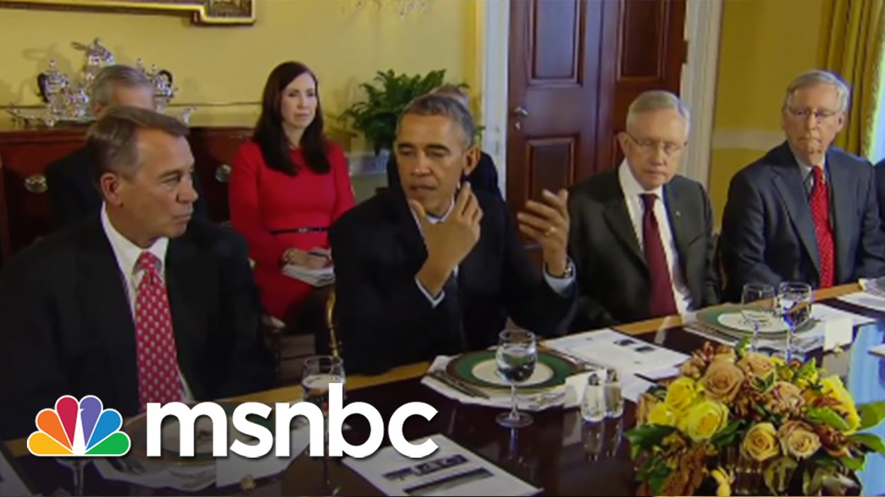 Republicans Introduce Bill To Sue Obama | msnbc thumbnail