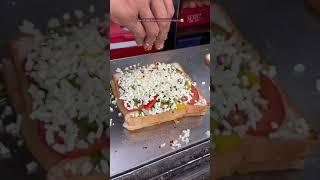 Super Cheesy Sandwich of Surat  #streetfood #cheese #sandwich #surat