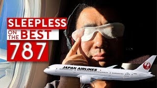 SLEEPLESS on the BEST B787 – Japan Airlines