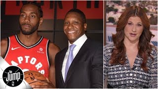 Raptors GM made gambles that would 'make a bookie blush,' and he won - Rachel Nichols | The Jump