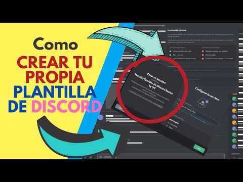 , title : 'Como crear una plantilla de servidor de discord'