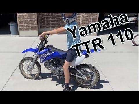 2021 Yamaha TT-R-110E 110E at Shreveport Cycles