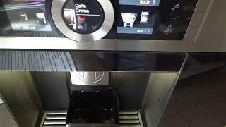 Bosch CTL636ES1 Einbaukaffeevollautomat mahlt nicht, Bohnenbehälter bald leer