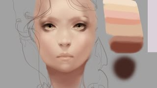 How to Paint Skin Realistically-Remastered