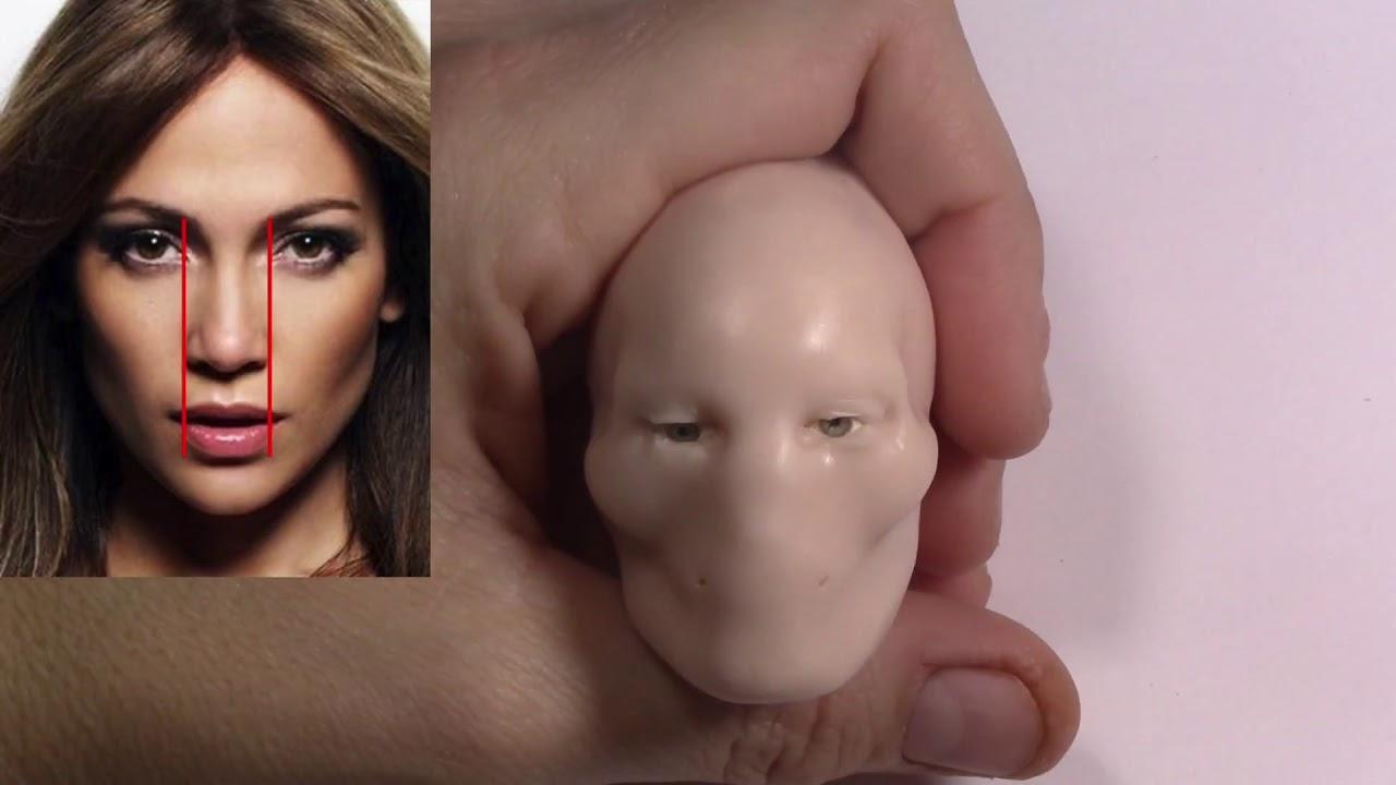 sculpture of a woman realistic face by juliana lepine