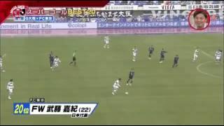 サッカーJリーグスーパーゴールBest20