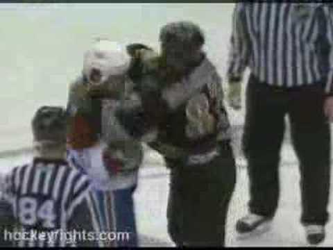 Donald Brashear vs. Aaron Downey