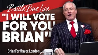 """""""I Will Vote For You, Brian"""" 