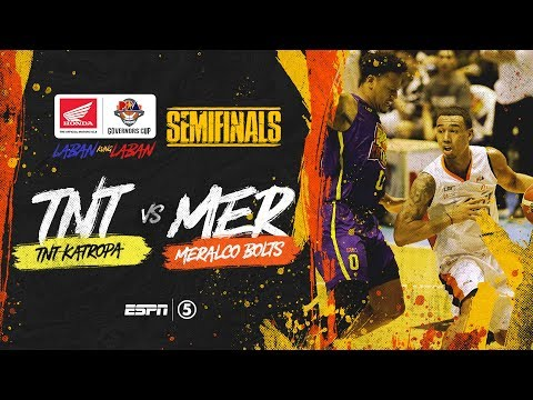 [Sport5]  Full Game: G3: TNT vs Meralco | PBA Governors' Cup 2019 Semifinals