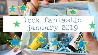 Look Fantastic Unboxing January 2019 - Beauty Box