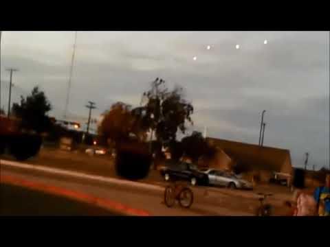 Meerdere UFO's boven Utica, New York, 17 september 2020