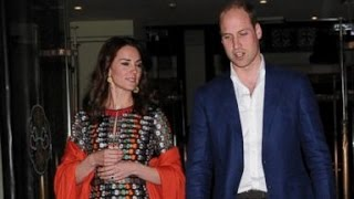 Duchess Kate, Prince William Double Date With The King, Queen Of Bhutan