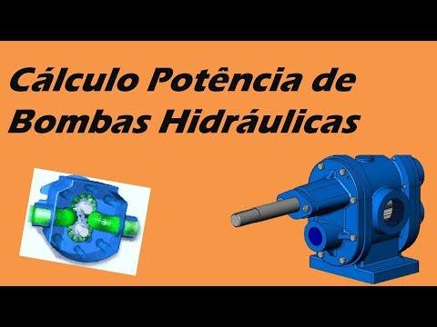 Cálculo Potência de Bombas Hidráulicas
