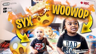 BABY SYX AND WOO WOP LINK UP AND... ** I WAS SHOCKED**