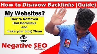 How to Disavow Backlinks (Guide) | Negative SEO
