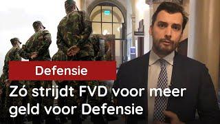 Zó strijdt FVD voor meer geld voor Defensie!