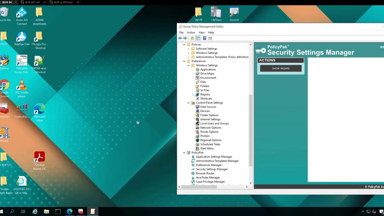 PolicyPak and Windows Intune