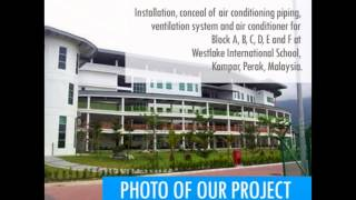 preview picture of video 'BUTTERWORTH  Commercial Air Conditioning System in BUTTERWORTH  Penang  Malaysia,'