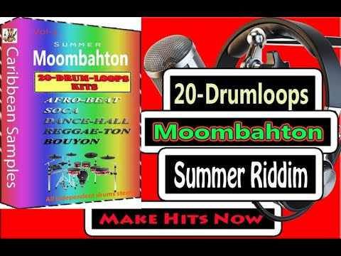 20-Moombahton Drum-loops Kits  /All Independence stems