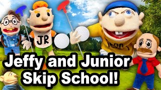 SML Movie: Jeffy And Junior Skip School!