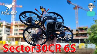 HGLRC Sector30CR 6S 3'' FPV Freestyle / Cinewhoop - Review & Flight Footage