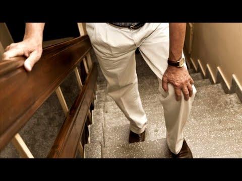Боль в колене при ходьбе по лестнице - что делать?