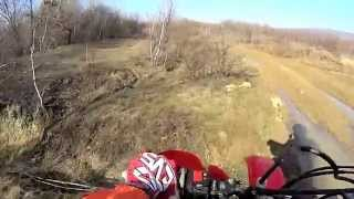 preview picture of video 'Spring ride on Honda XR400'