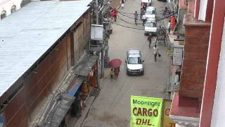 2014-09-25 Street scene - J P Marg, Kathmandu