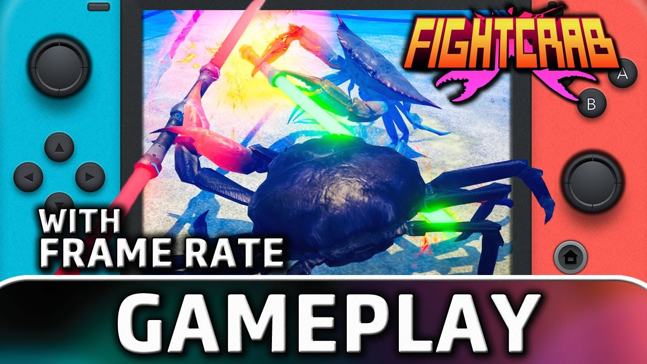Fight Crab | Nintendo Switch Gameplay and Frame Rate