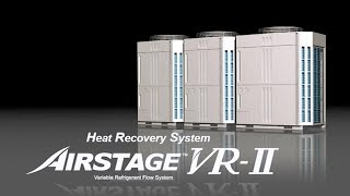 Airstage™ VR-II Series Features