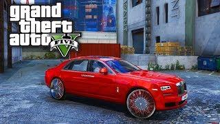 Weed Lab & Rolls Royce Ghost On 26s! GTA 5 Real Life Mod #43 (Real Hood Life 4)