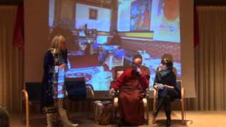 preview picture of video 'Informationsabend mit Bhikkhu Sanghasena Part 1'