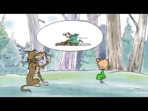 мультфильм Алдар и серый волк