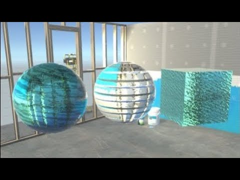Creating a Distorted / Frosted Glass Material in Unity 5 - смотреть