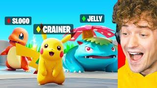 Fighting Jelly & Slogo In Pokémon Unite!