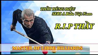 Thầy Hùng Điệu Serie A Việt Nam chơi bida tại CLb Thịnh kent - Master of libre billiards 당구