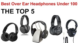 Best Over Ear Headphones Under 100 (2015) Bluetooth and Wired for Cheap