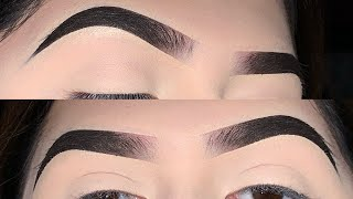 Eyebrow Tutorial For Beginners Using ABH Dipbrow Pomade