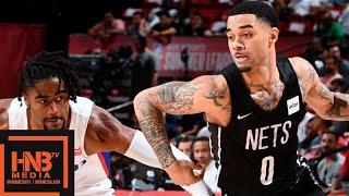 Brooklyn Nets vs Detroit Pistons Full Game Highlights   July 13   2019 NBA Summer League