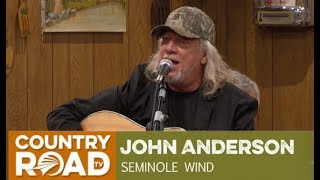 """John Anderson Sings """"Seminole Wind"""" On Larry's Country Diner"""