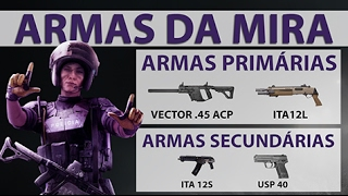 [PT-BR] RAINBOW SIX SIEGE - Equipamentos da Mira [Operation Velvet Shell]