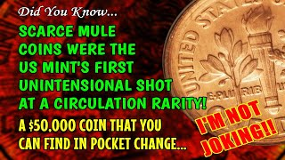 "Rare $50,000 Mule Coin Error Is The ""Instant Win Lottery Ticket"" That You Can Find!"