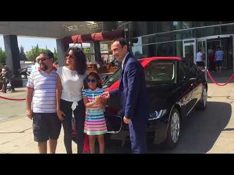 Jaguar talihlisi  ARACINI ALDI